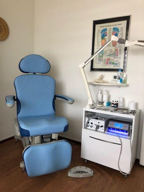 Moderne elektrische bedienbare behandelstoel